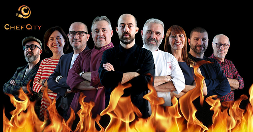 Chef in the City: ecco il calendario completo di tutte le sfide