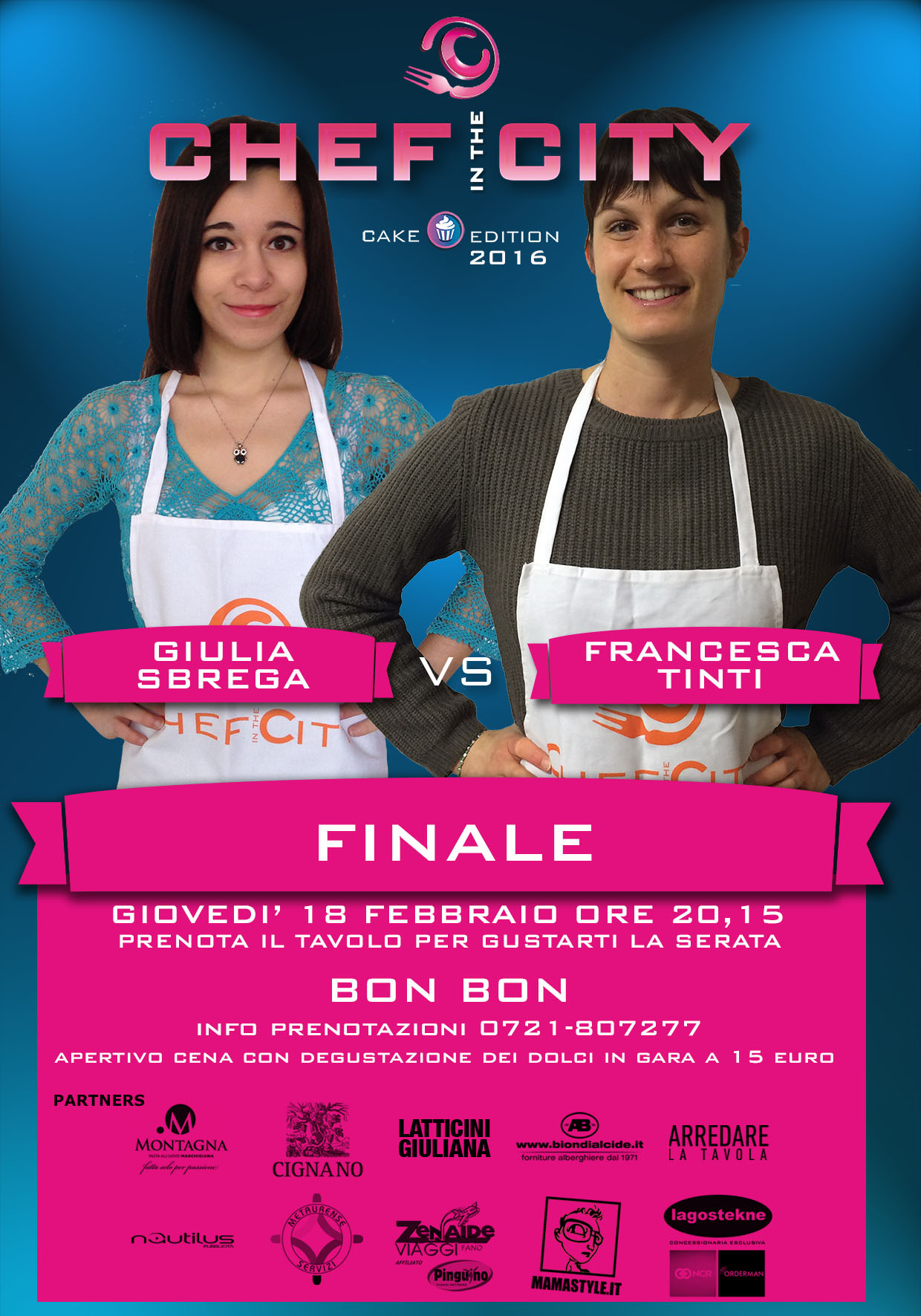 Chi sarà la pasticcera amatoriale più brava della provincia di Pesaro e Urbino? Domani la finale