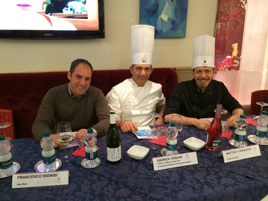 Francesco Dionisi, Andrea Urbani, Matteo Cavazzoni - Giurati di Chef in the City Cake Edition