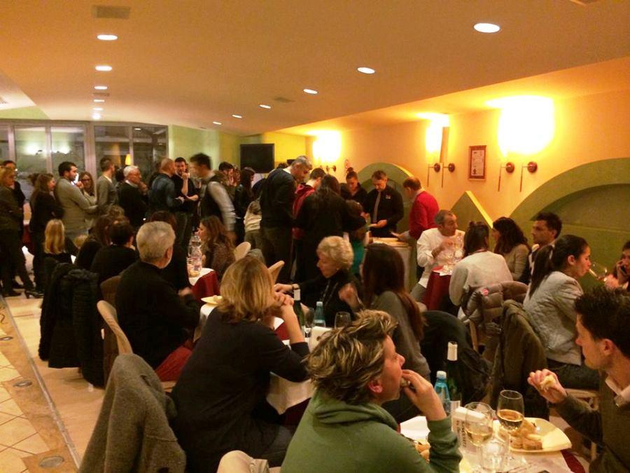 Il pubblico del Bon Bon durante Chef in the City Cake Edition