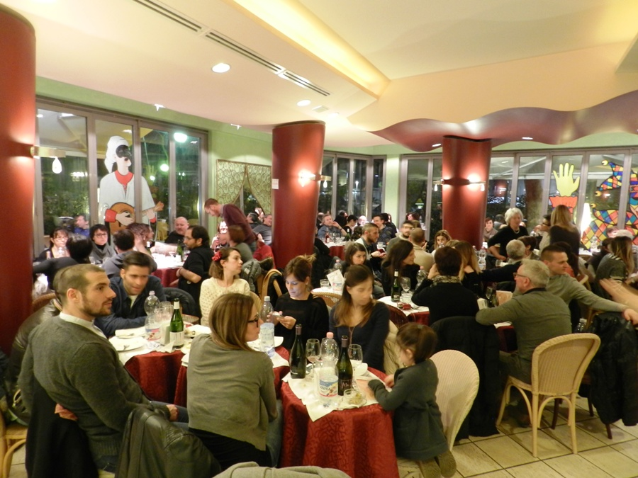 Il pubblico del Bon Bon durante Chef in the City Cake Edition