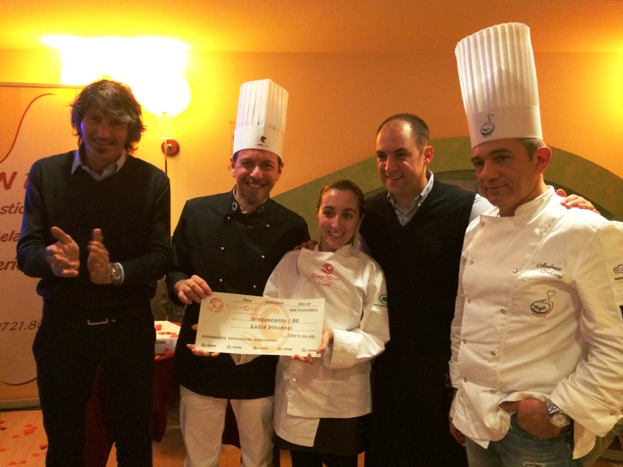 Lucia Vincenzi � la vincitrice di Chef in the City Cake Edition 2014