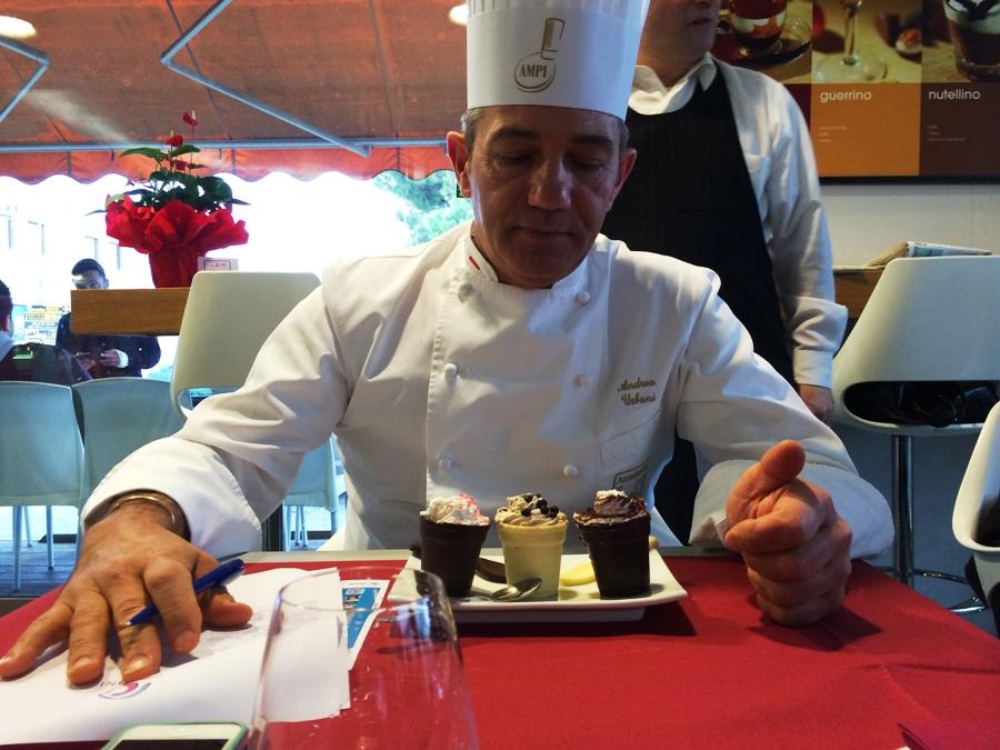Andrea Urbani, giudice di Chef in the City - Cake Edition 2014
