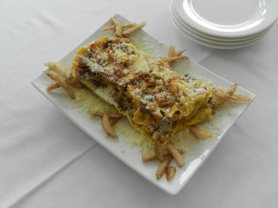 Un piatto presentato alle preselezioni di Chef in the City 2013