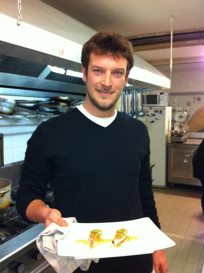 Eugenio Mazini concorrente di Chef in the City 2013