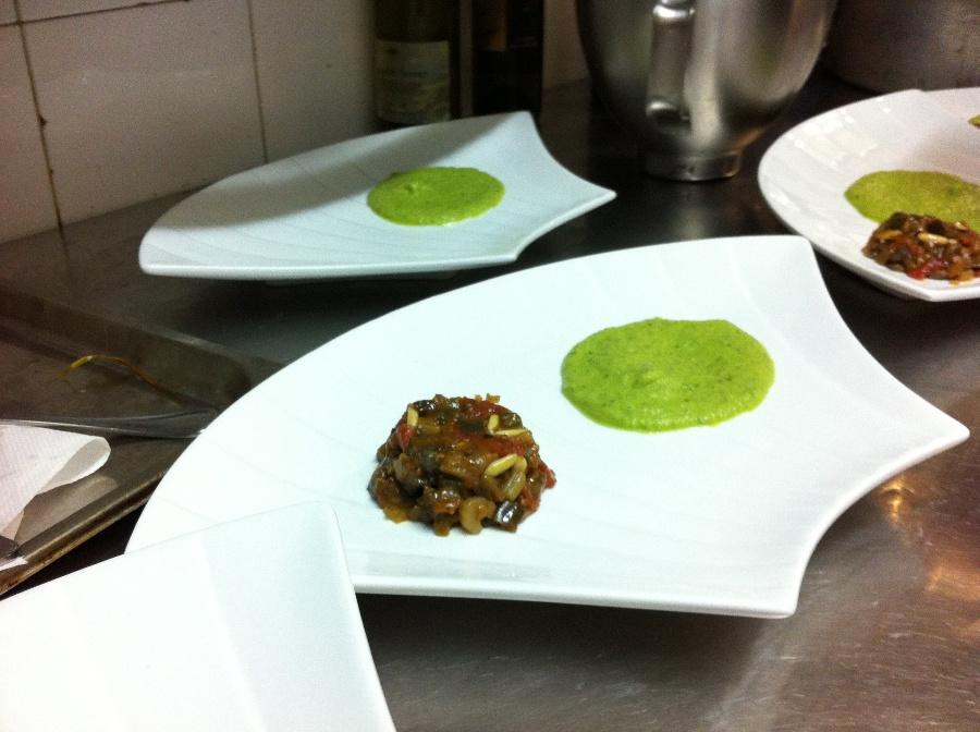 Il piatto di Luigi Orsini - Chef in the City 2013