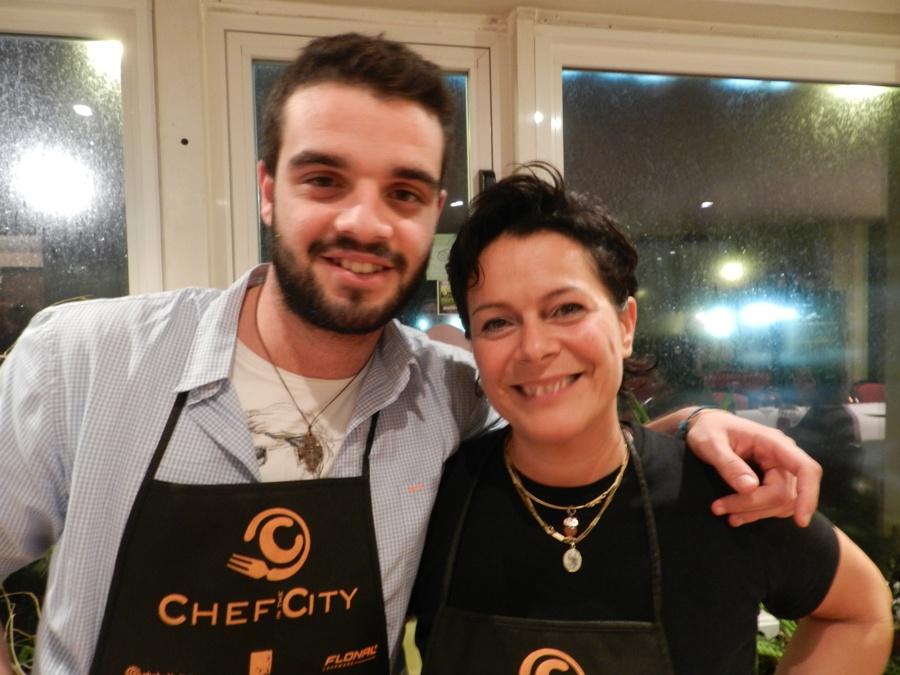 Simone Giovanelli e Cristiana Francolini - Chef in the City 2013