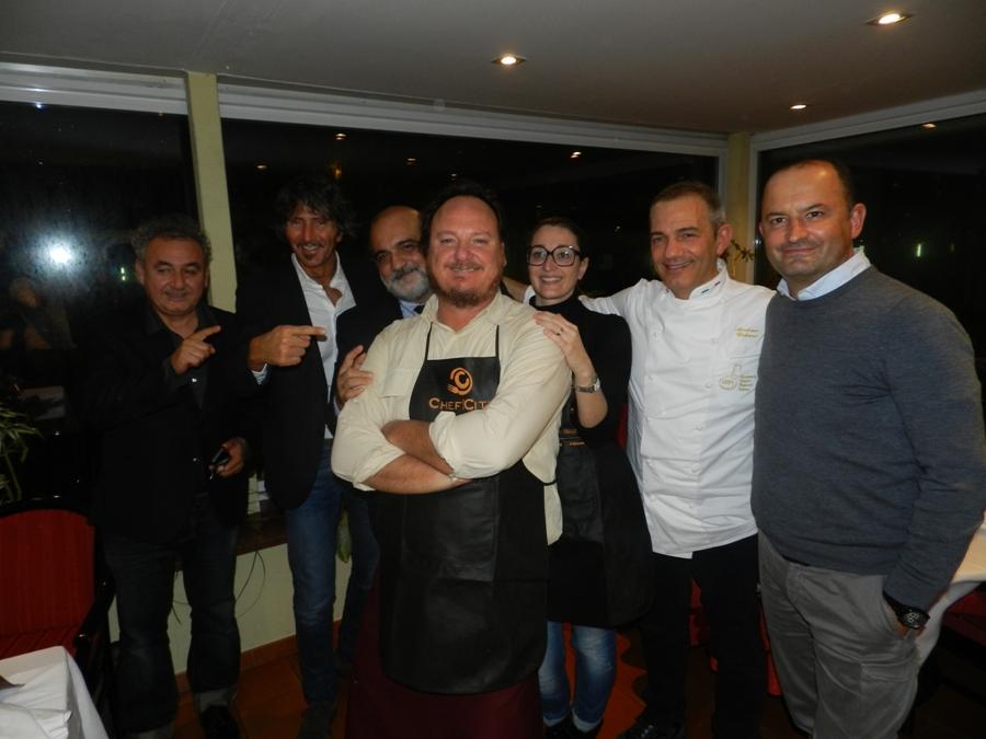 Concorrenti e giudici di Chef in the City 2013