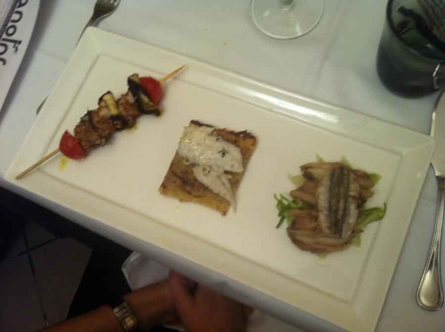 Catena alimentare, il piatto di Luigi Orsini