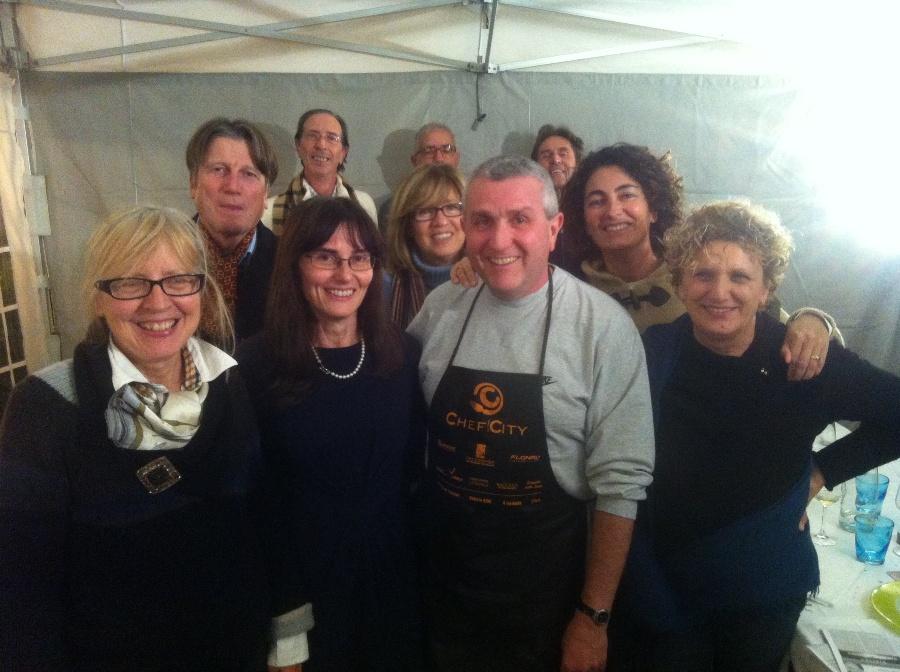 Luigi Orsini con i suoi fan