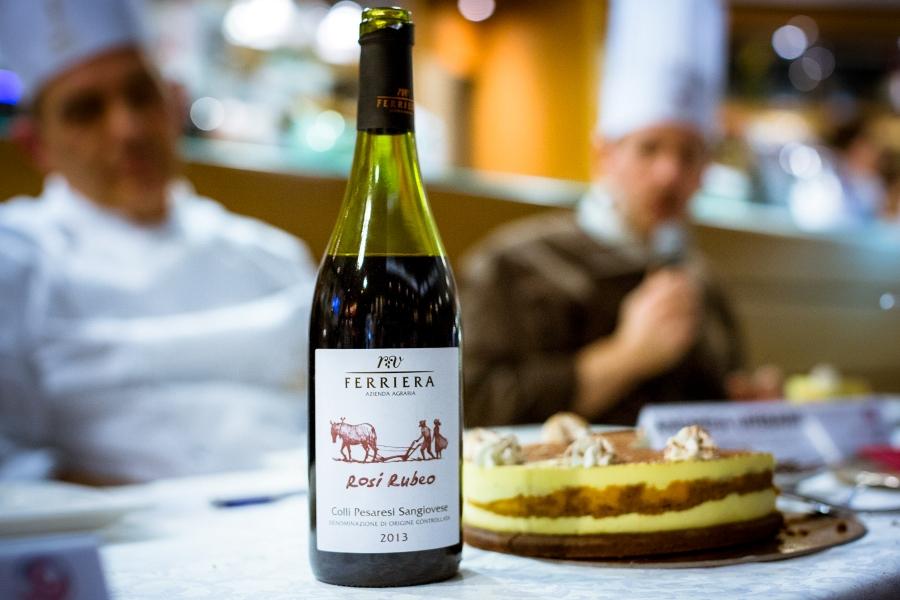 I vini Ferriera hanno accompagnato l'edizione 2015 della Cake Edition di Chef in the City