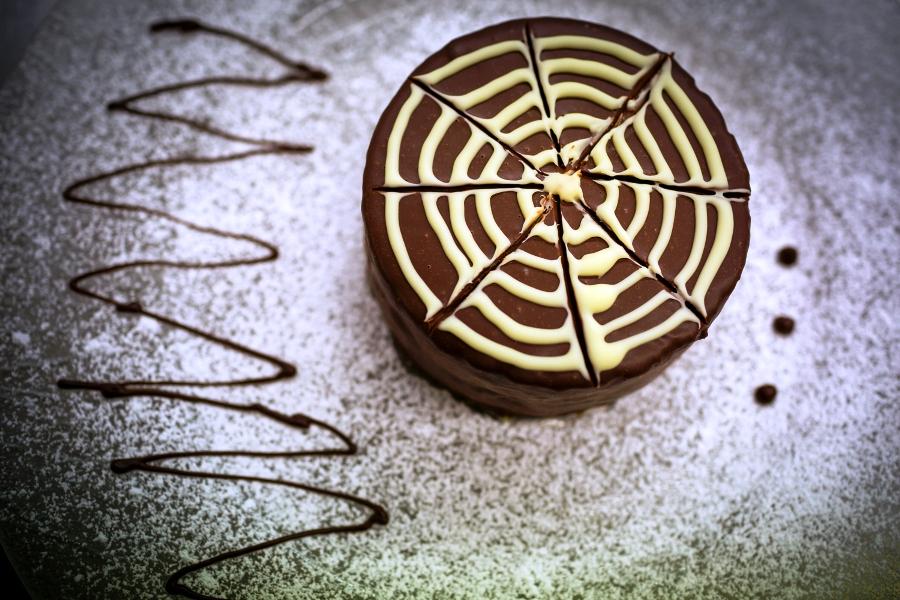 la Torta delicata al cioccolato di Martina