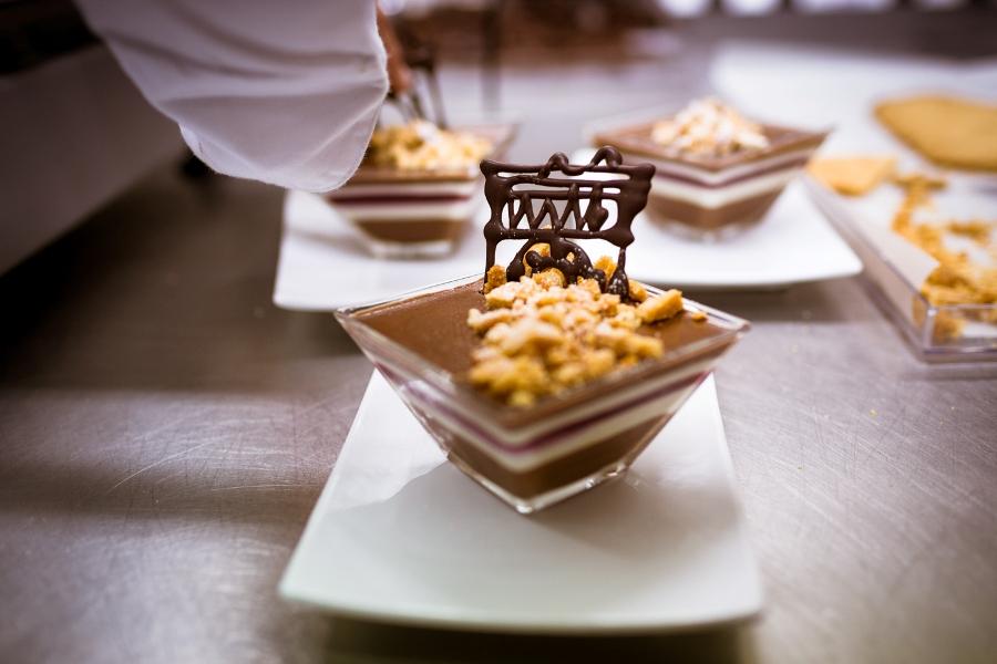 Armonia di cioccolato in un cuore Augusteo di Ramona Neri