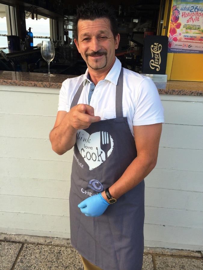 Salvatore Dario - Chef in the City 2014 - Summer Contest