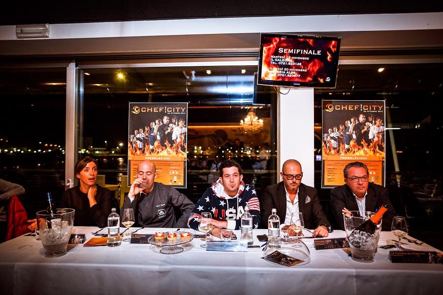 I giudici  della preselezione di Chef in the City 2014
