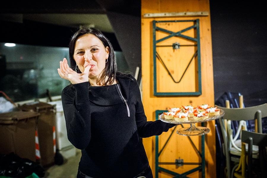Un'aspirante concorrente di Chef in the City 2014