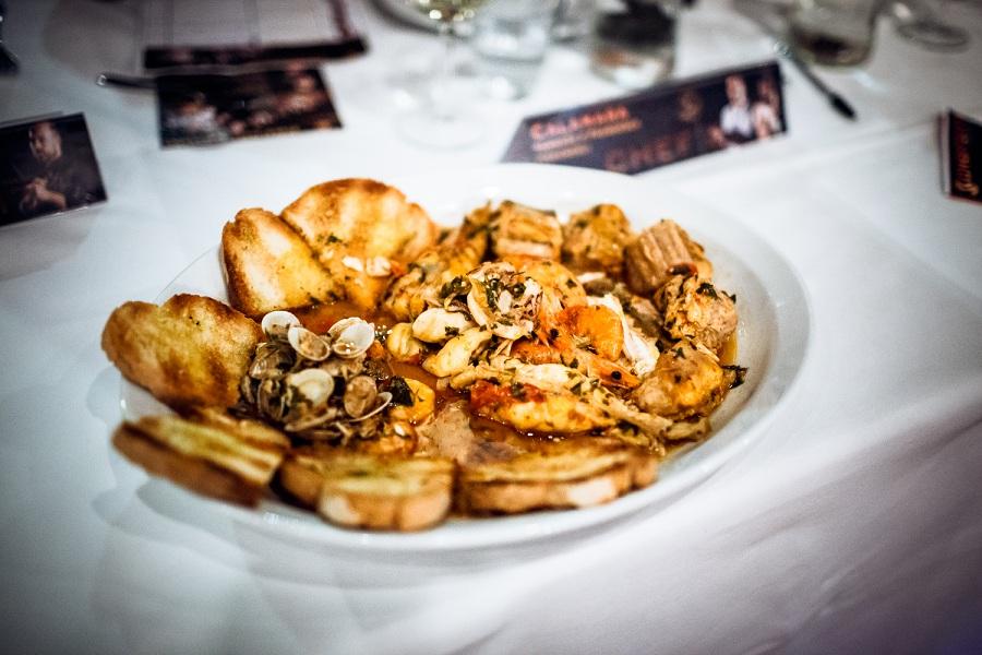 Un piatto presentato alle preselezioni di Chef in the City 2014
