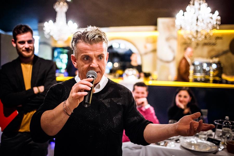 Un aspirante concorrente di Chef in the City 2014