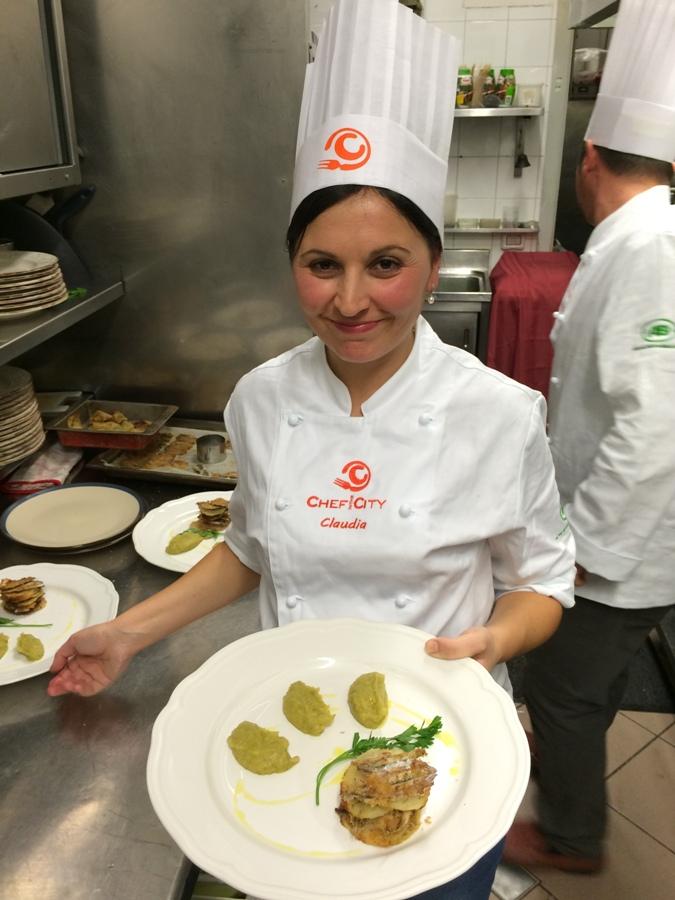 Claudia Fabiani e le sue Alici nella ricetta delle meraviglie