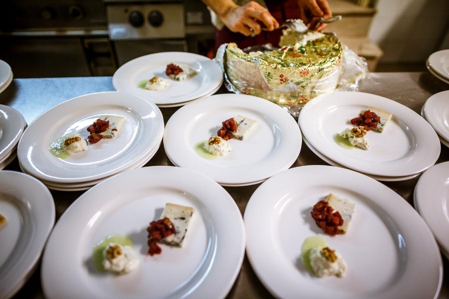 i formaggi offerti da Latticini Giuliana al pubblico di Chef in the City 2014