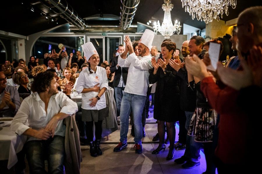 La proclamazione della vincitrice di Chef in the City 2014 Rachele Palazzetti
