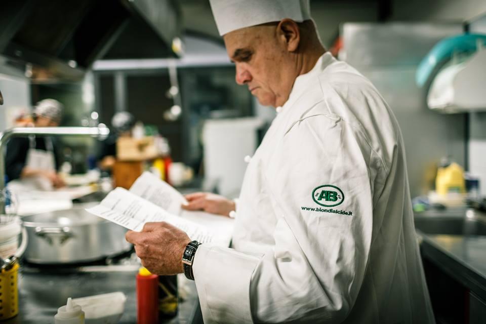 Filippo Tranquilli ripassa la sua ricetta