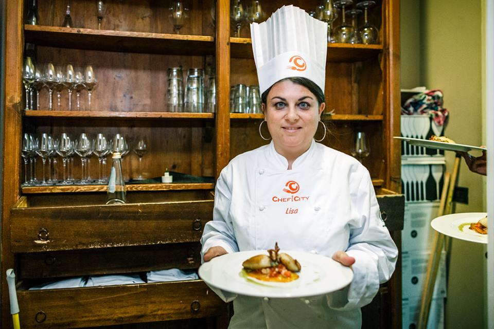 Lisa Tomasucci ha terminato il suo piatto