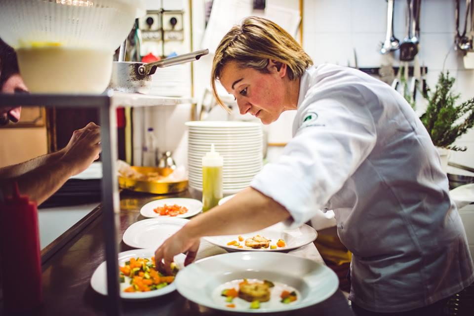 Il pollo e l'orto piatto di Chiara Sabati