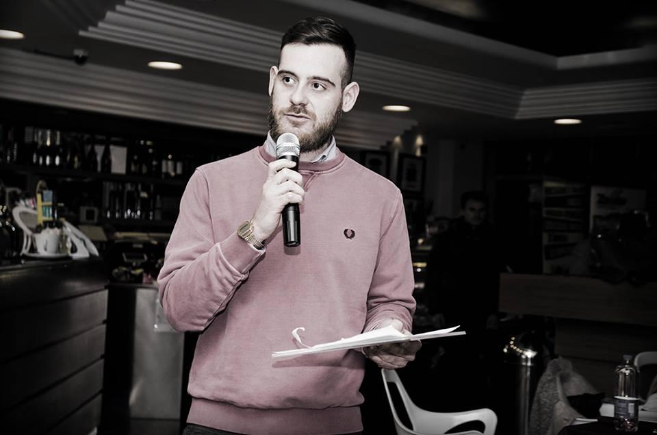 Il bravo presentatore Alessandro Bianchi